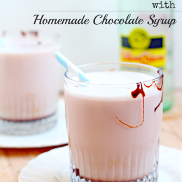 Egg Cream Recipe with Homemade Chocolate Syrup