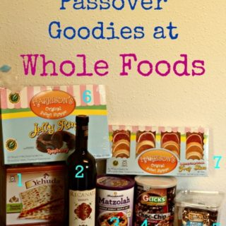 Whole Foods Kosher for Passover Products